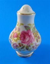 Royal Albert Serena Salt Shaker Royal Albert, Salt, Pottery, China, Vintage, Design, Ceramica, Pottery Marks