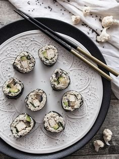 Cauliflower Rice is the low-carb alternative for conventional sushi and has a…