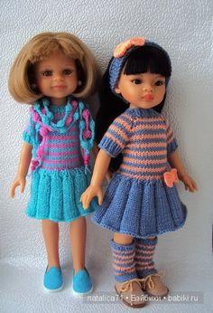 Весна идет, весне дорогу! Пять комплектов для кукол Паола Рейна. / Одежда и обувь для кукол - своими руками и не только / Бэйбики. Куклы фото. Одежда для кукол