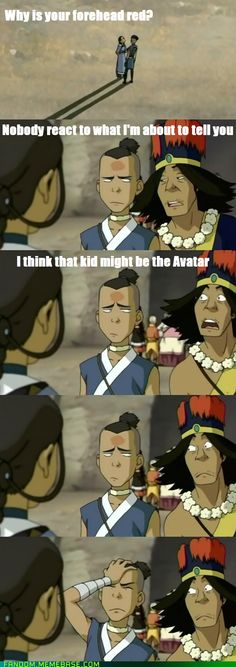 Avatar the Last Airbender level Facepalm