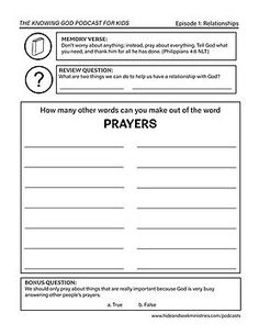 Free Bible Printables | Hide and Seek Ministries Youth Bible Study, Free Bible Study, Bible Lessons For Kids, Bible For Kids, Inductive Bible Study, Bible Quiz, Bible Studies For Beginners, Bible Activities For Kids, The Knowing