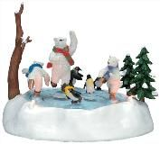 North Pole Skaters, Lemax (#2276)