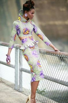 African inspired outfit for women