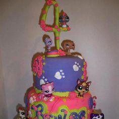 My daughters littlest petshop cake by Melissa Fletcher