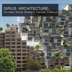 Sirius is a symbol of how people can work together to preserve the heritage and culture of the country. The Australian architecture awards took almost 40 years to recognize its worth. Best Digital Marketing Company, Australian Architecture, Architecture Awards, Beautiful Buildings, 40 Years, Chennai, Preserve, Social Media Marketing, Construction