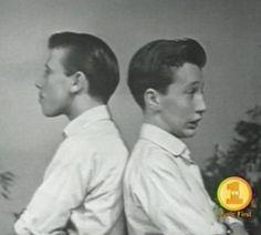 Maurice and Robin Gibb