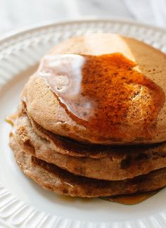 The very best vegan pancake recipe.