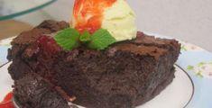 Bolo-pudim-brownie de Chocolate | Receitas | Ana Maria Braga