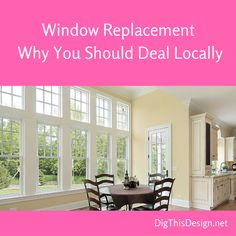 It's important when replacing your windows that you have it done right. After just going through hurricane season I know this now more than ever. Today's post speaks to why you should deal with a local contractor when replacing windows.