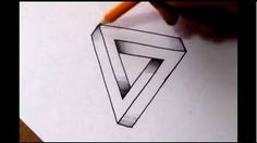 How To Draw The Impossible Triangle - Optical Illusion, via YouTube.