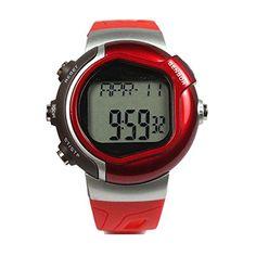 DAYAN Unisexsport-Uhr mit Herzfrequenz-Monitor und Kalorienzähler Fitness Weight beobachten Farbe Rot - http://kameras-kaufen.de/dayan/dayan-maenner-frauen-multifunktions-sport-coole-14