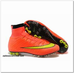 quality design 13366 36a3e Mens ORANGE VOLT Nike Mercurial Superfly X AG ACC Outlet Sale Soccer Boots,  Football