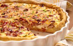 Tarte aux poireaux et aux lardons : Recette de Tarte aux poireaux et aux lardons - Marmiton