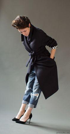 Studio Style: 3 Coats, Isa Arfen, shoes, Valentino / Garance Doré