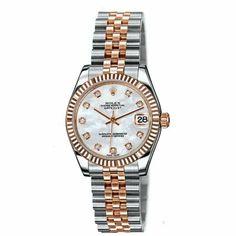 http://www.horloger-paris.com/fr/2974-rolex   Rolex Oyster Perpetual Datejust 31mm Rolesor Everose ...