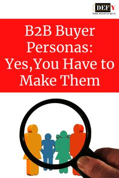 Buyer Personas: Yes, You Have to Make Them Status Quo, Content Marketing Strategy, Growing Your Business, Persona, Letting Go, Hate, Track, Social Media, Writing