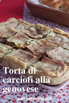 Italian Desserts, Italian Recipes, Quiche, Vegetarian Cooking, Antipasto, Wine Recipes, Finger Foods, Good Food, Food And Drink