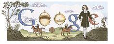 Otto von Guericke - 20 oktober 2012 Op de Duitse homepage van Google een logo in het teken van Otto von Guericke, een Duits natuurkundige en bestuurder geboren op 20 november 102 in Magdeburg.