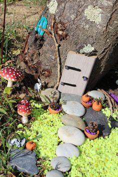 Maison Fée Fee Fairy Garden Home House Porte Jardin Deco Brico  Tuto Diy Jeux Activité Enfant Imagination Truffaut Loisir Creatif Figurine Schleich U2026