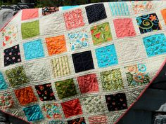 Baby Quilt - Sassy by Sandy Gervais for Moda 35 x 42