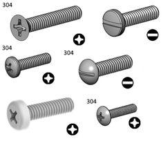 Vaste sélection de vis machine en tout genre et toutes tailles / Vast selection of machine screw all sizes! Nut Bolt, Genre, Hardware, Fasteners, Rocket Launch, Everything, Computer Hardware