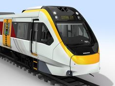 The vehicle design is based on the Adelaide EMU train. According to Bombardier, the new commuter trains will provide improved capacity, security and passenger flow.