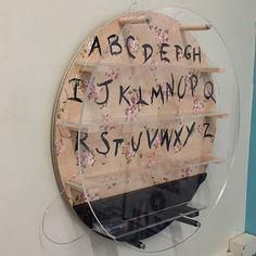 Stranger Things Alphabet Wall Display Shelf for Funko Pop