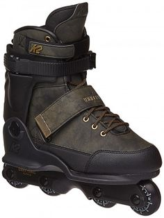 K2 Unnatural Aggressive Skates Olive