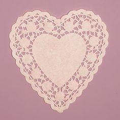 6 Inch Heart Shape White Lace Paper Doilies 100 Count PEP... https://www.amazon.com/dp/B00P06EDT8/ref=cm_sw_r_pi_dp_x_oMqUybWWJWKFY