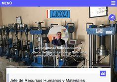 Jorge Alfonso Mauricio Cuevas Jefe de Recursos Humanos y Materiales en Laboratorio y Consultoría de Zacatecas