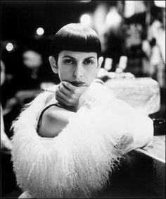 Isabella Blow. Photo by Steven Meisel.