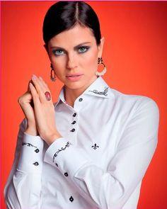 14 melhores imagens de Camisa Dudalina Feminina  31bdd8527602c