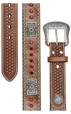 Nocona® Mens Rhinestone Western Belt N2442708 | Cavender's Boot City