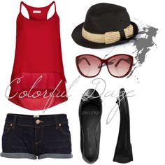 """""""Madame Red"""" by jokerxjester on Polyvore"""