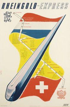RHEINGOLD - EXPRESS. 1953.