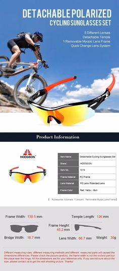ba152632db A Free Removable Myopic Lens Frame for myopia cyclists to insert  prescription lenses. Myopia Cyclists can see clear with HODGSON Cycling  Glasses!