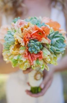 beautiful, bouquet, bouquets, bridal, colors, decor, floral, flowers, succulents, wedding
