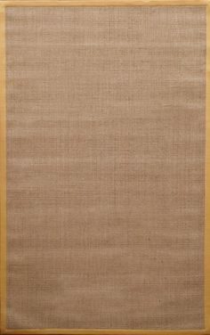 Natura Herringbone Brown Yellow Area Rug