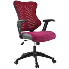 Modway Clutch Ergonomic Mesh Office Chair #ergonomicofficechairmodern