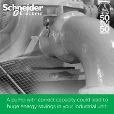 Just selecting a pump with correct capacity could lead to huge energy savings in your industrial unit. If you have such interesting ideas to save energy, Schneider Electric is listening. Upload your ideas here. https://www.facebook.com/SchneiderElectricIN/app_190322544333196