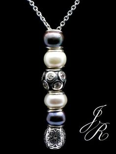 ICE CHIP  - Auth. .925 Silver CARLO BIAGI Charm Bead Silver Slider - by ReginasDreamCreation, $239.00