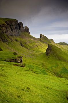 Green, Isle of Skye, Scotland photo via enna