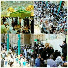 [ 13 Shaban 1437 ]  Right Now The Atmosphere inside Al-Askari Holy Shrine.
