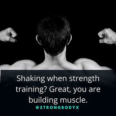 Build muscle.