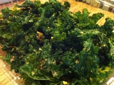 kale chips Going to try a version of this...
