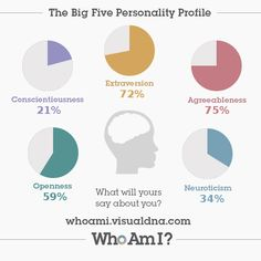 I've just created my 'Who Am I?' #personality profile via @VisualDNA. Check it out https://whoami.visualdna.com/?c=uk#feedback/9e40385d-f32a-4252-8e5b-7d00bef2b4af or create one for yourself https://whoami.visualdna.com/