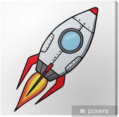 Cuadro en Lienzo Cohete espacial. ilustración vectorial de dibujos animados • Pixers® - Vivimos para cambiar Rocket Ship Tattoo, Book Drawing, Miles Davis, Game Assets, Etsy Business, Land Art, Activities For Kids, Spiderman, Steampunk