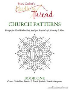 Image of Church Patterns: Book One - $14.00 A printable collection of over 120 church embroidery designs suitable for hand embroidery, appliqué, paper crafts, painting, and all kinds of other arts & crafts.