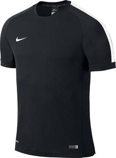 Nike Adult Squad 15 Flash SS Training Top - Black White White - Nike f5e2a6c8c9bf