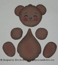 Paper Punch Bear Part 2